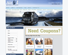 Air 1 Moving Website