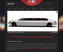 Air Force One Limo Website