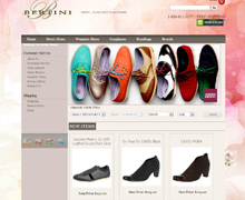 Bertini Shoes Website