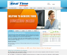 Real Time Manager Website